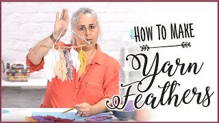 Yarn Feathers: How To Make Stunning Feathers Out Of Yarn