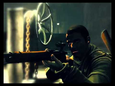 Sniper Elite NZ Army - 5th mission (Elite Sniper Difficulty final part) NEVER DID IT BEFORE !