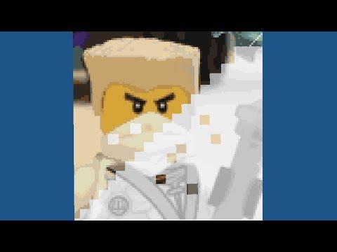 Ninjago Pixel Art Lego Ninjago Zane Fast Motion Video
