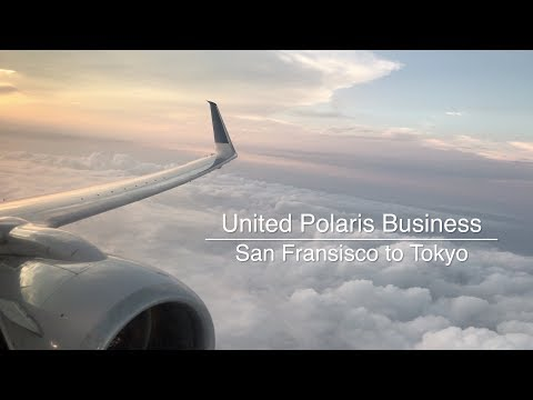 United Polaris Business Class SFO to NRT Review