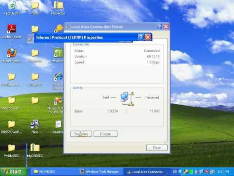 MyDNSSEC Manager WinXp.avi