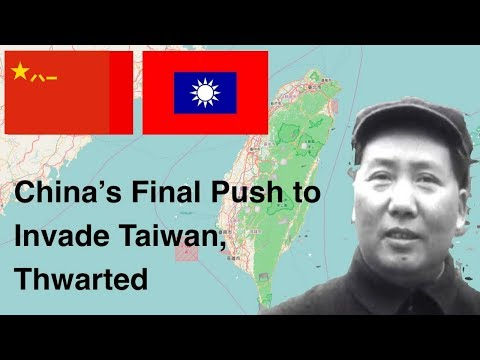 China's Final Push To Invade Taiwan, Thwarted