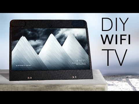 Build your own portable SMART TV (100% wireless!)