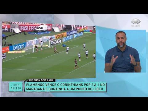 DENÍLSON COMENTA VITÓRIA DO FLAMENGO SOBRE O CORINTHIANS | JOGO ABERTO