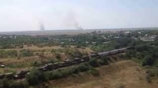 Военная техника близ Ростова на Дону
