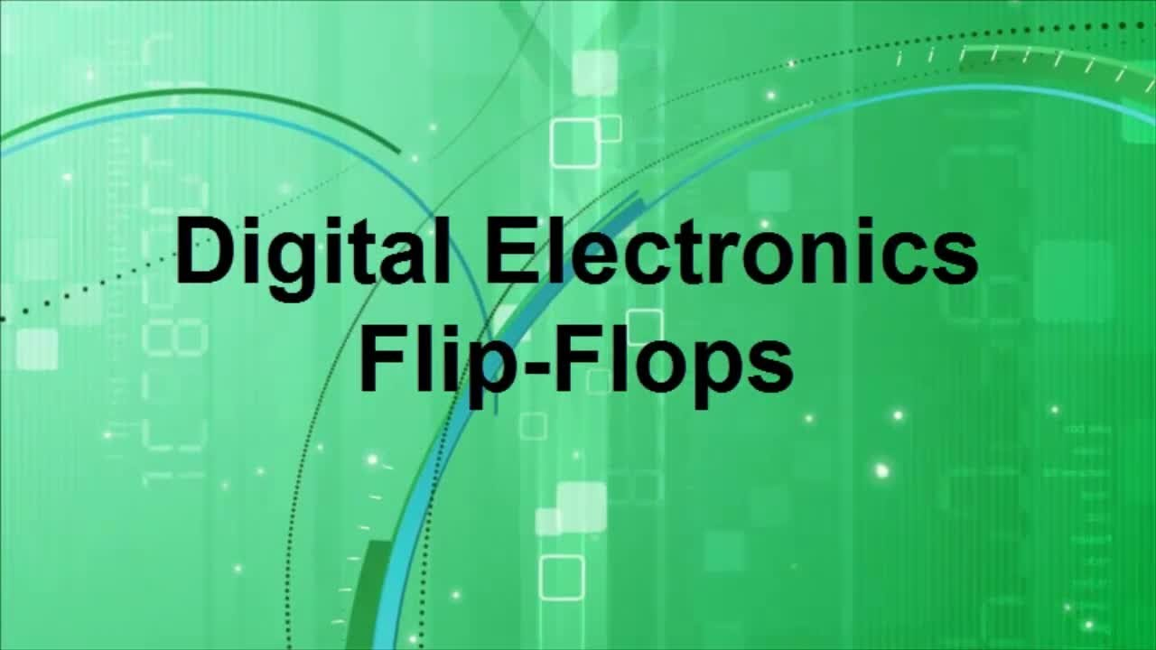 Digital electronics flip flops youtube malvernweather Choice Image