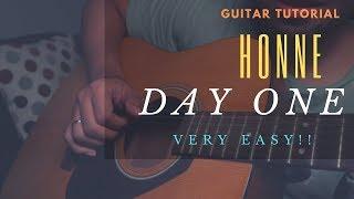 Day One Guitar Tutorial (Honne)