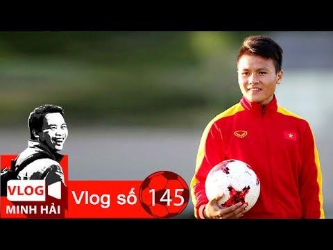 Vlog Minh Hải | Quang Hải - Chi tiết nhỏ - tài năng lớn😊😛😍
