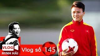 Vlog Minh Hải   Quang Hải - Chi tiết nhỏ - tài năng lớn😊😛😍