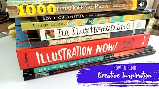 How to Find Creative Inspiration + Motivation // Art Journaling and Creating + + + LET'S GET INKI