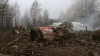 ポーランド空軍 Tu-154 (Tu-154M) 事故機墜落前映像 (飛行機事故) / 2 days before air crash: Polish airforce