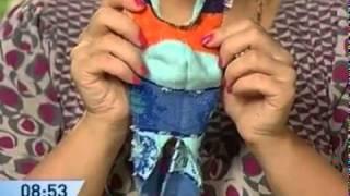 Как сделать игрушку из носка.mp4