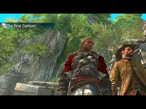 AC4 Naval gameplay The Final Contract Golden Flintlock Pistols Gilded Sails Jackdaw customization