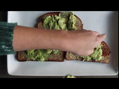 Avocado Toast Timelapse