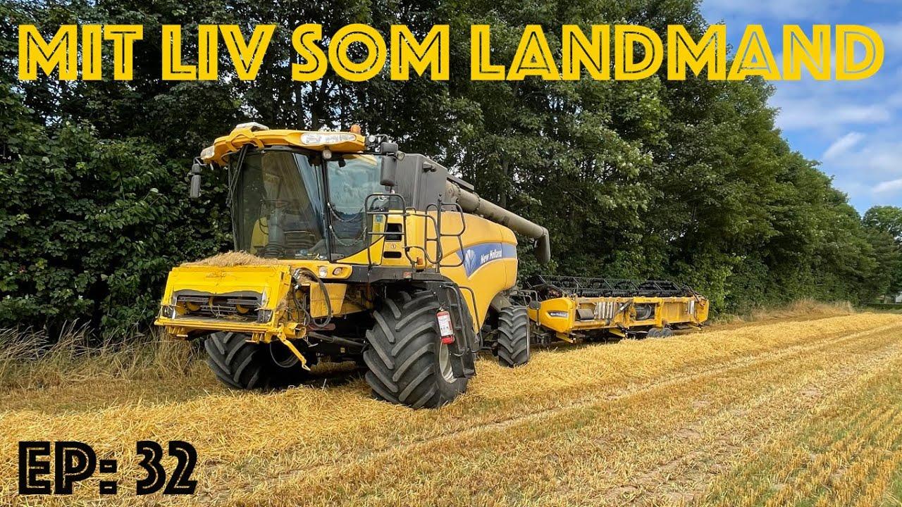 Mit liv som landmand EP: 32 Så det sku høst!
