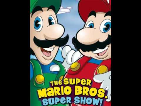 The Super Mario Bros. Super Show! - The Plumber Rap (Instrumental)