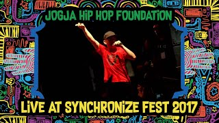 Jogja HipHop Foundation LIVE @ Synchronize Fest 2017