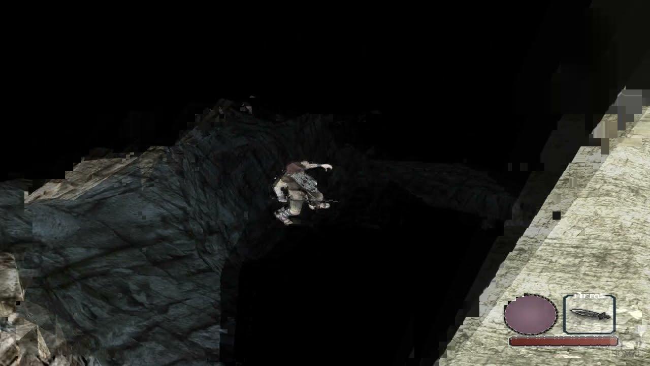 Shadow of the Colossus - E3 demo beta mountains