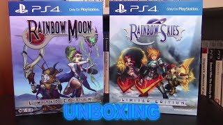 Rainbow Moon and Rainbow Skies (PS4) Limited Edition Unboxing