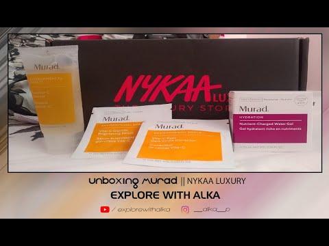 UNBOXING MURAD || NYKAA LUXURY || EXPLORE WITH ALKA