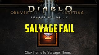 Diablo 3 - Reforge Legendary Fail