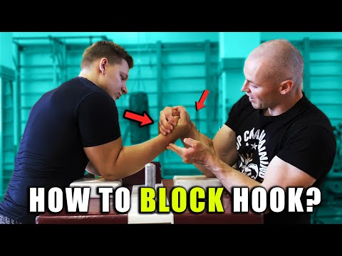 ARM WRESTLING TECHNIQUES (How To Defend Against Hook For Toproll)