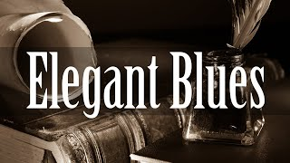 Elegant Blues  Smooth Blues Guitar and Piano Music  Relax Instrumental Blues