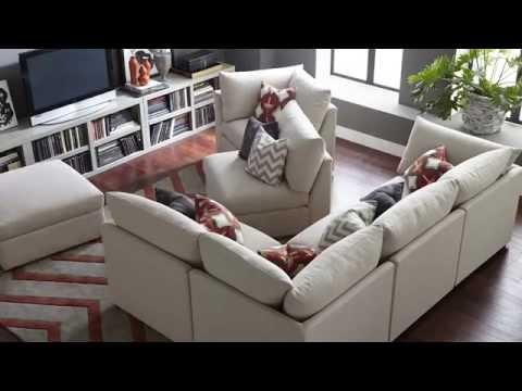 Beckham Modular Sectionals By Bassett Furniture Youtube