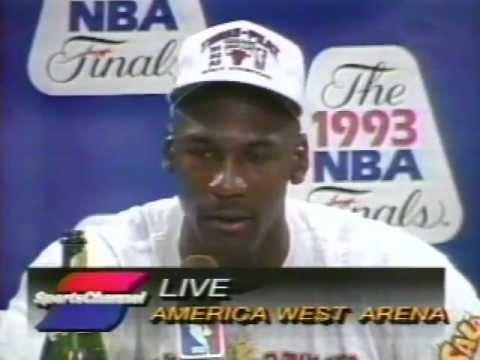 Michael Jordan - exclusives, 1993 NBA Finals