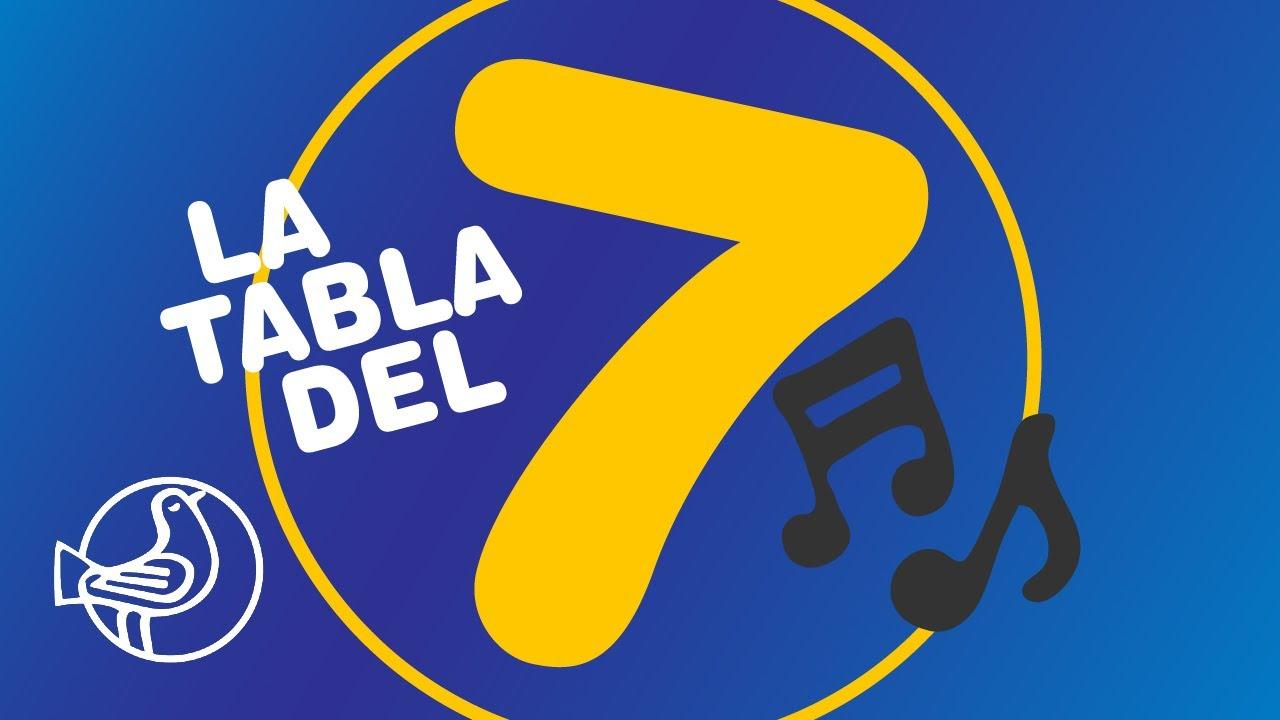 Tabla Del 7 Tablas De Multiplicar Canción Cool Aprende Las Tablas Cantando Youtube