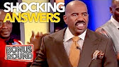 SHOCKING ANSWERS On Family Feud That Will Make You Laugh! Bonus Round