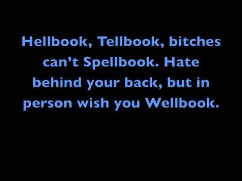 Facebook? Slutsbook? Rap