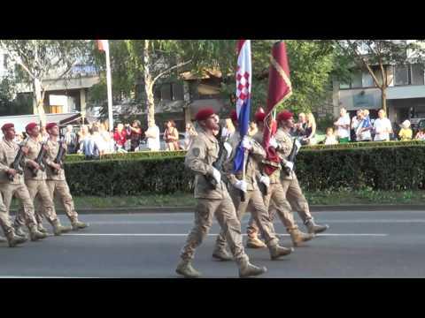 Vojni Mimohod u Zagrebu  -  Military Parade Zagreb 2015  - Croatia