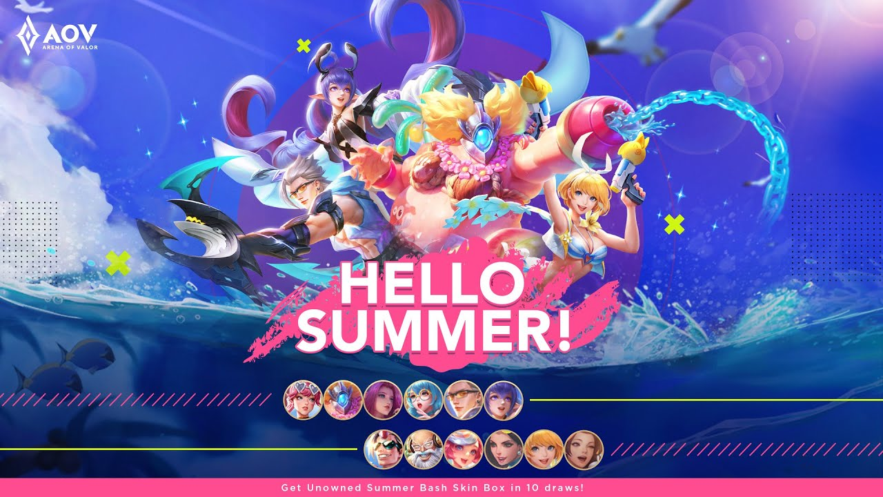 Hello Summer! - Garena AOV (Arena of Valor)