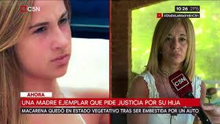 Una madre ejemplar que pide justicia por su hija