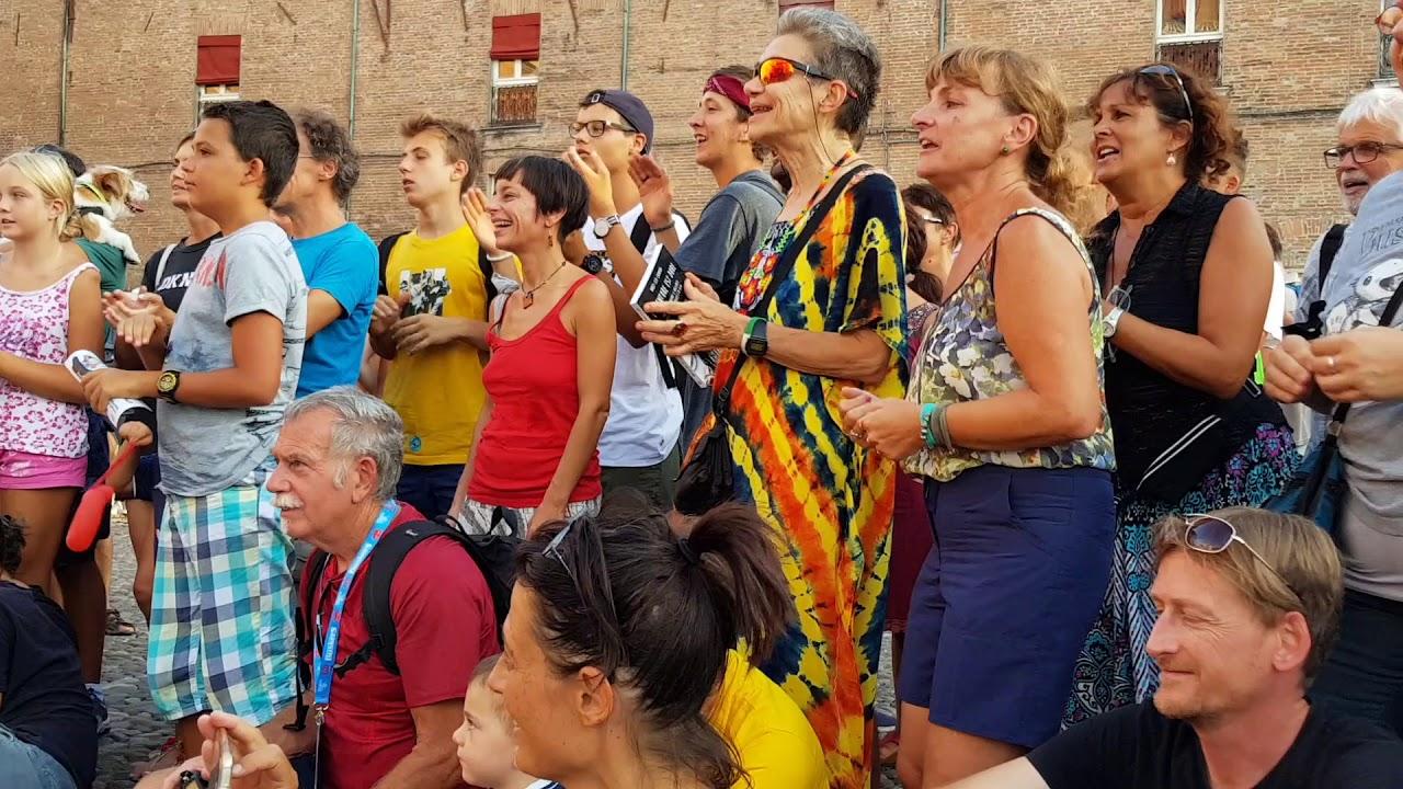 Seydou kienou in concerto a festival baskers  Festival 2017 a Castello di Ferrara