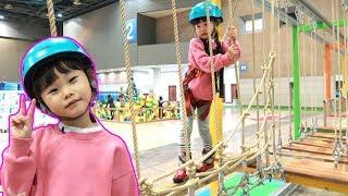 짚라인 타고 방탈출하라! 킨텍스 상상체험 키즈월드 & 키즈카페 장난감 놀이 Image Kids World Indoor Playground