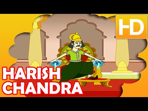 Story Of Harishchandra | Kids Full Movie | Animated Mahabharat Story For Kids | Kahaniyaan