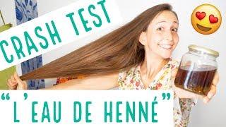CRASH TEST : L'EAU DE HENNÉ ???? Effet WAAAHOU ???? / Видео