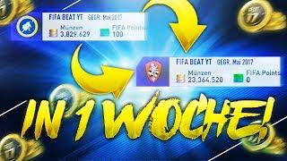 IN 1 WOCHE 3 MILLION COINS!