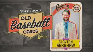 Clayton Kershaw opens 25-year-old baseball cards