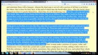Herodotus, Hemp & The History