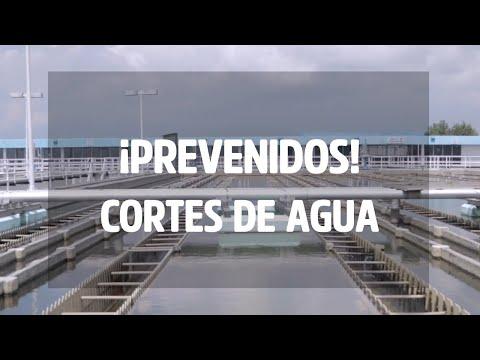 Prevenidos: Corte de agua en la CDMX