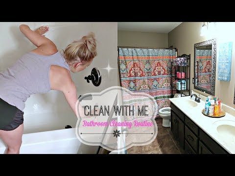 Bathroom Cleaning Motivation-Clean With Me- Cleaning Routine