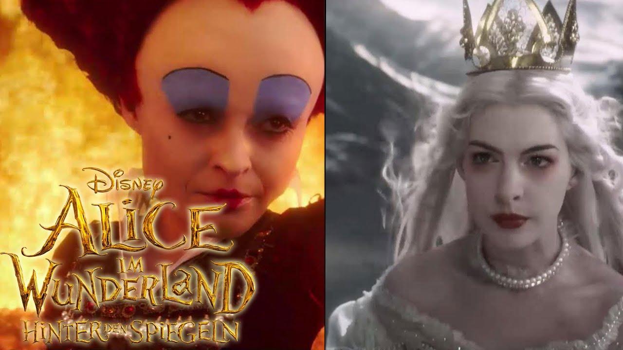 Alice Im Wunderland Hinter Den Spiegeln Schwestern Disney Hd