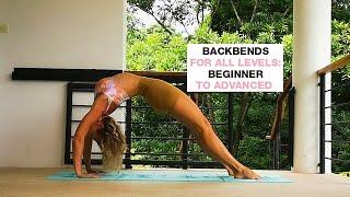 2 Minutes Backbends Practice I Backbends For All Levels I Backbend Yoga Flow