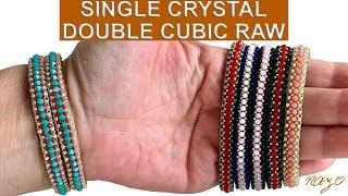 Tek kristalli çift küp örgü