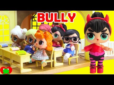 LOL Surprise Dolls and The School Bully
