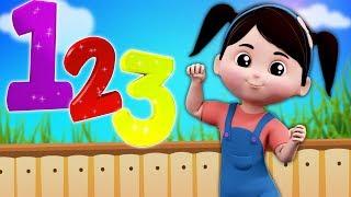 numéros chanson | numéros 1 à 10 pour enfants | éducative chanson | pépinière chanson | Numbers Song