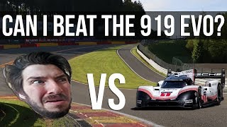 Can I Beat The 919 EVO's Lap Record At Spa?